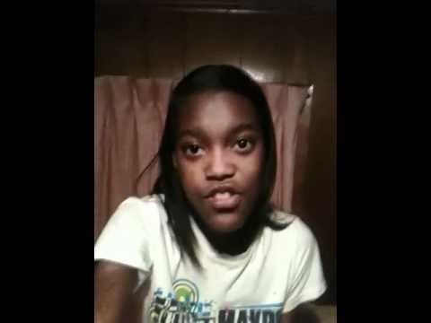 Tyniquia13 Singing Nicki Minaj's SuperBass