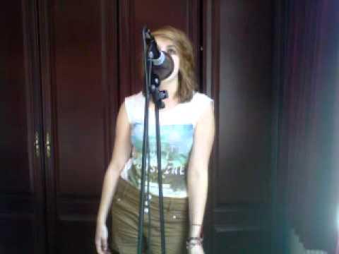 me singing a team-ed sheeran