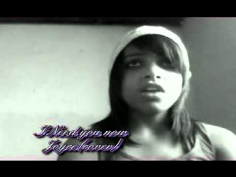Me singing I need you now ♥ P.sJoyce