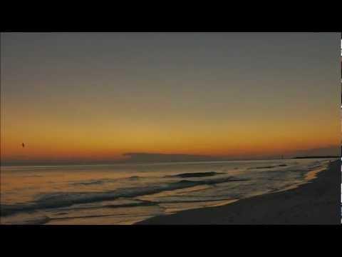 Sunset on the Beach on Christmas Eve 2011