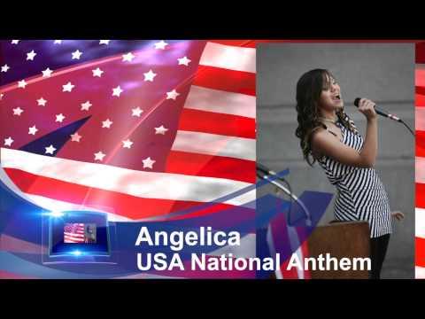 Angelica Ramos USA National Anthem 2012