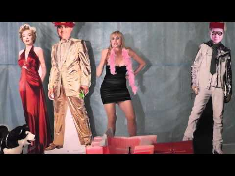 Jay In His Turbine Powered Sleigh ( Jay Leno, Bill Shaftner, Marilyn Monroe)