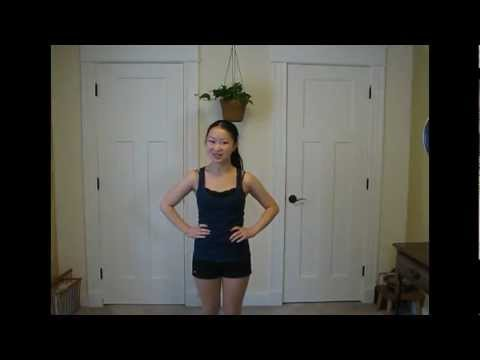 "Dance Tutorial for Glee's ""Rumour Has It / Someone Like You"""