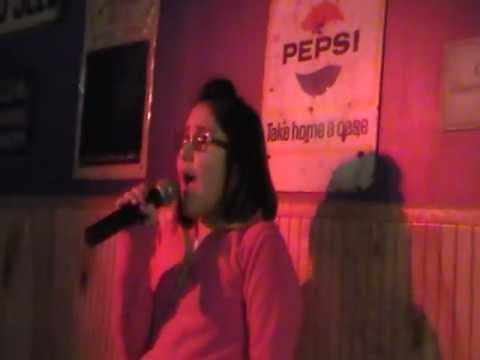 zoe alexa singing oh darling by the beatles at pappi s pizza