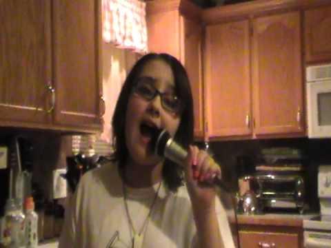 zoe alexa singing  talking to the moon by bruno mars