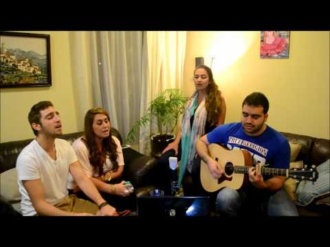 Hallelujah Cover By Shadi, Naomi, Stavros & Nathalie