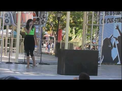 Great America Karaoke - Mariah Singer - Love Story(cover)