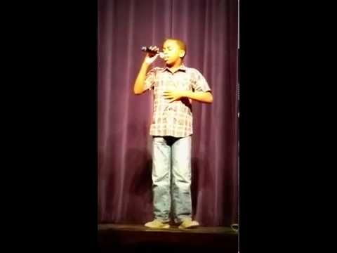 Joseph Steemer Singing I Believe in You and Me