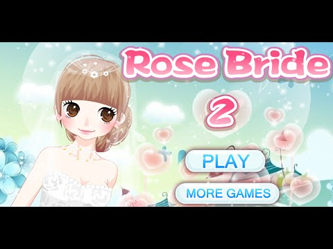 Rose Bride Dress up games