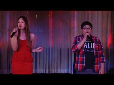 "Lauretta Williams & Miguel Ordanez sing "" Just Give Me A Reason ""  (2/23/2014   Las Vegas"