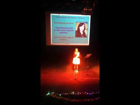 We Day 2014 - Rebecca Parkin
