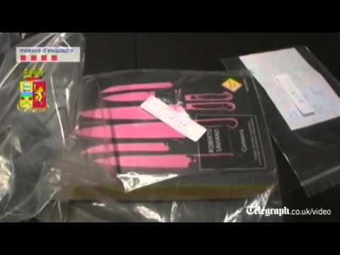 Spanish police release footage of Ndrangheta mafia boss arrest