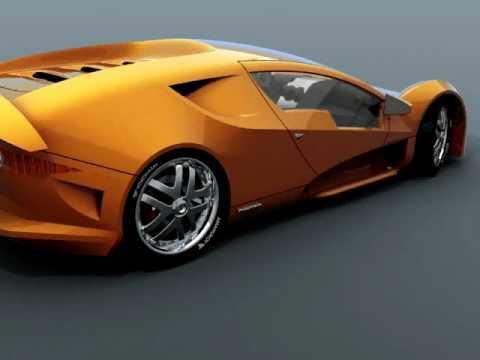 animation mamba2 rhino 3d concept car