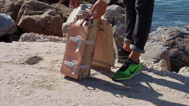 Nomadic Chair - Project by Jorge Penadés