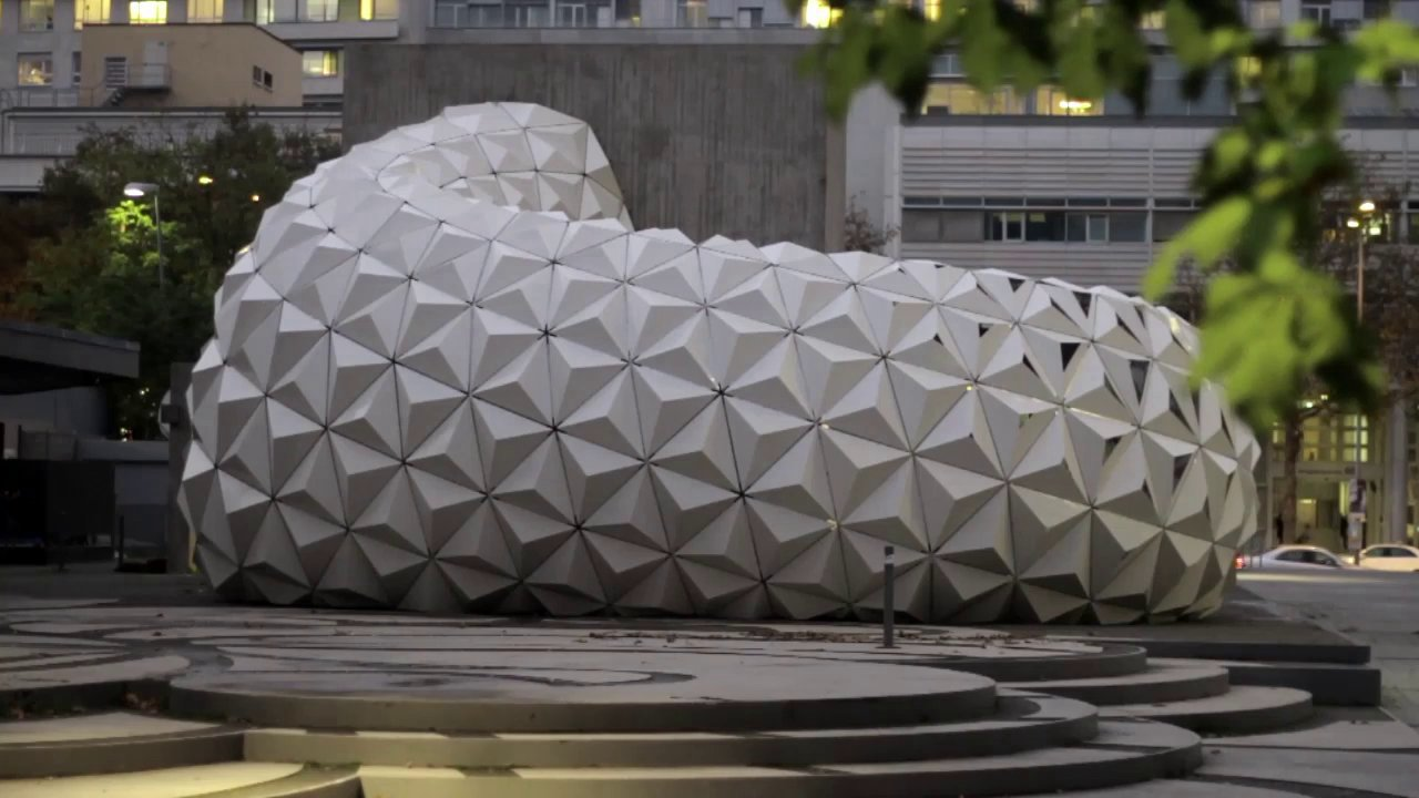 ArboSkin Video Clip: Short clip about the EFRE funded bioplastic facade