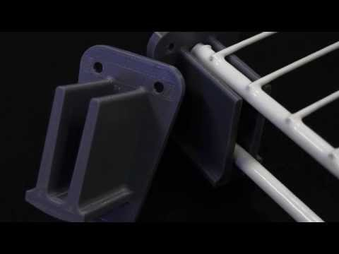3D Plastic Support Designed with Rhino and Printed with a MBOT 3D Printer.