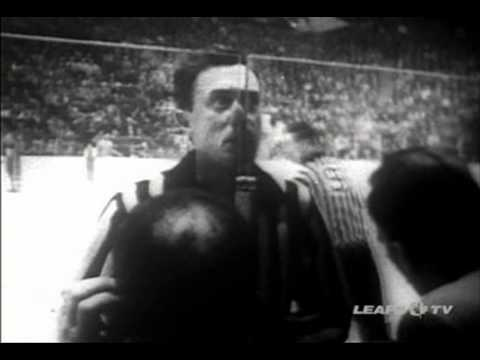 Eddie Powers referee NHL 1961