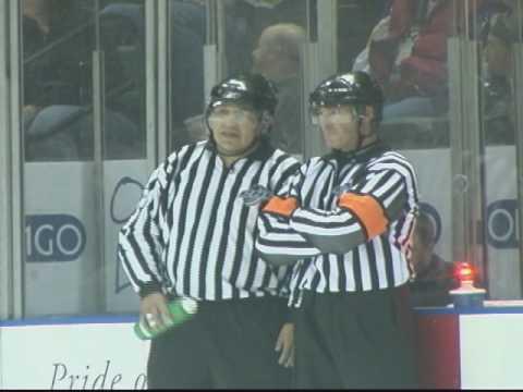 Hockey Linesman Mic'd Up