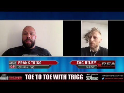 RFA 34's Zach Riley: 'I'm physically capable of beating anyone in the world