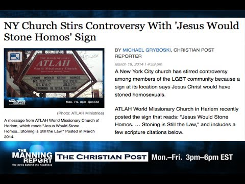 Setting The Jesus Teaching On Homosexuals Straight
