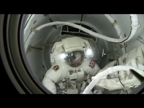 [ISS] Highlights from Spacewalk with Tim Peake & Tim Kopra