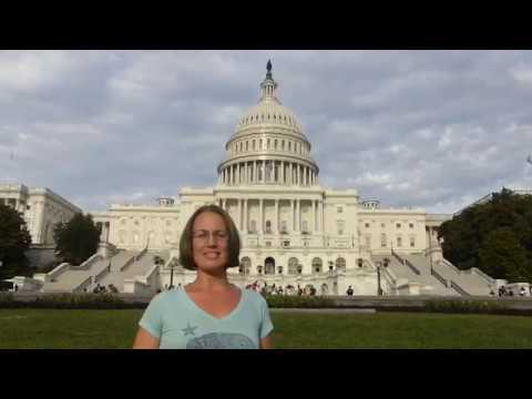 Republican Atheists' President Lauren Ell visiting Washington D.C.