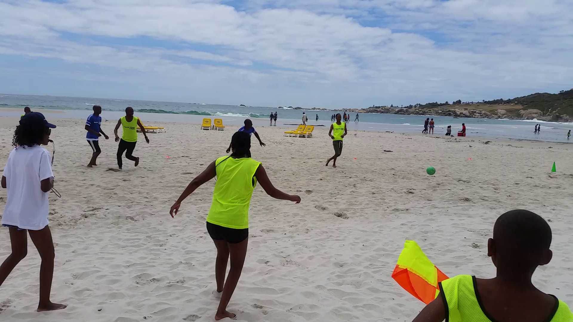 Beach Soccer at Gags Year End Function 2017