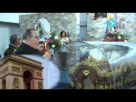 Visita de Santa Teresita del Niño Jesús, Bienvenida