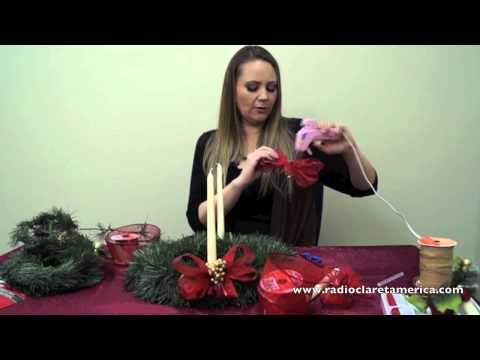 Como hacer una CORONA de ADVIENTO y su significado - Advent Wreath DIY