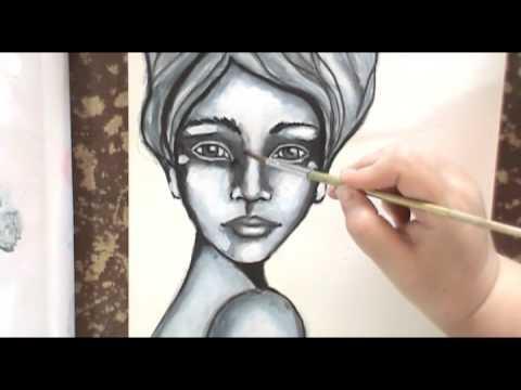 Draw, Paint, Scribble. Online mini workshop