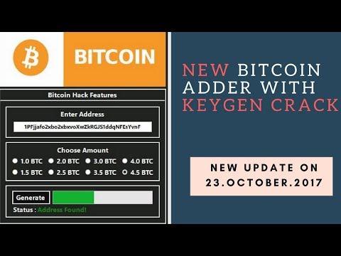 Bitcoin Adder 2017 WITH KEYGEN CRACK 07.Nov.2017   100% Working, No Scam