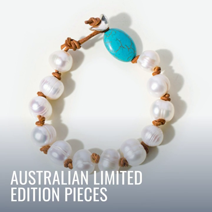 Pearl Bracelet - Limited Edition Hand Selected Custom Made