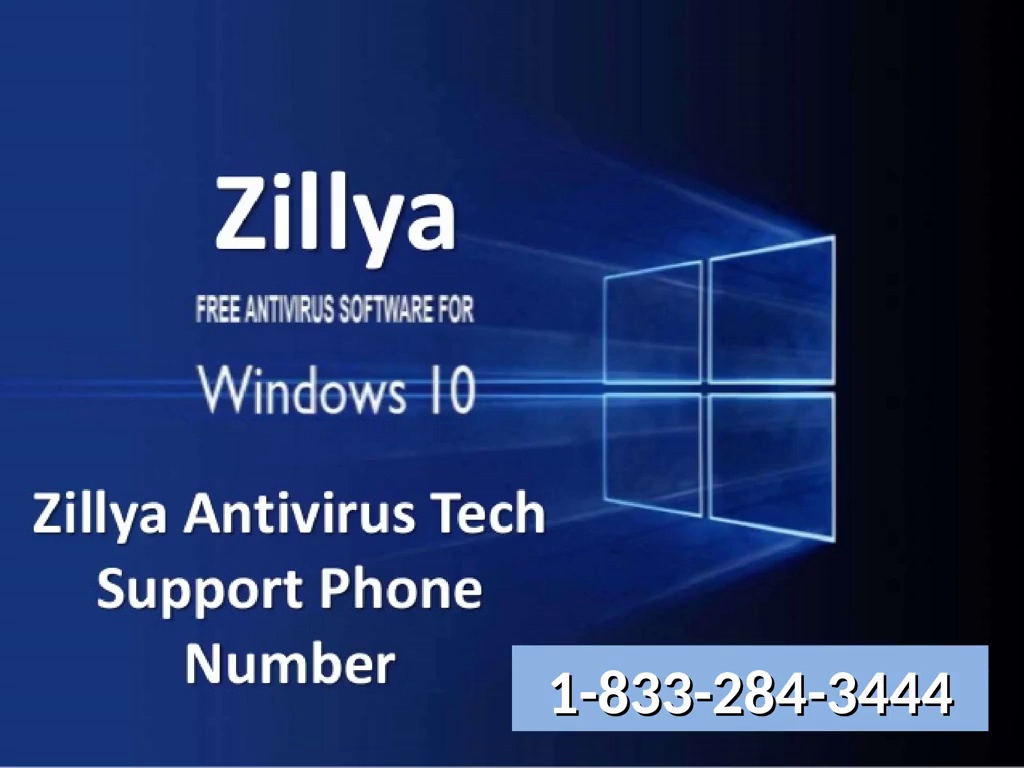 Zillya Customer Technical 1833-284-3444 Support phone Number