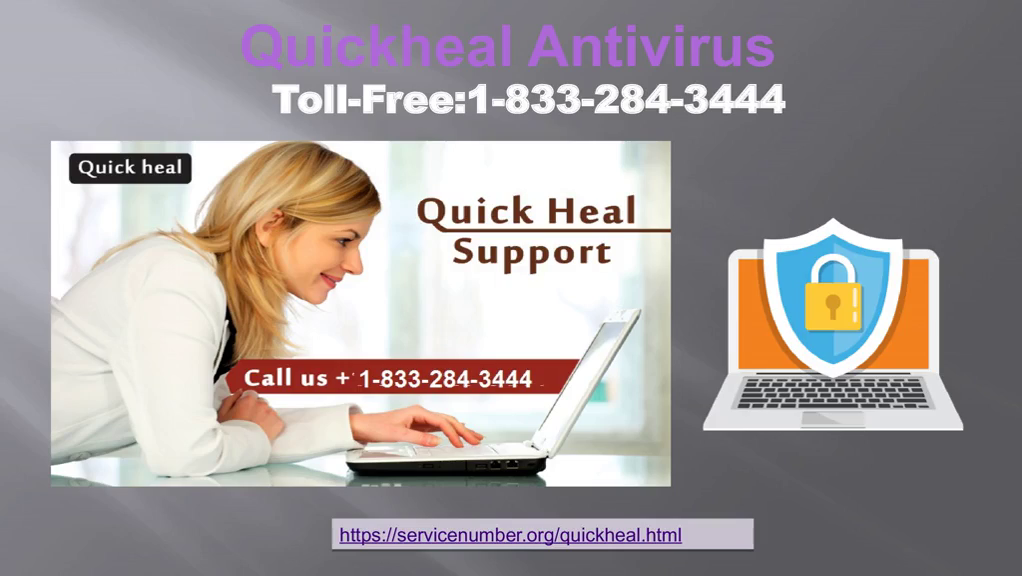 1-833-284-3444 Quick Heal Antivirus Customer Support Number- For Tech Help