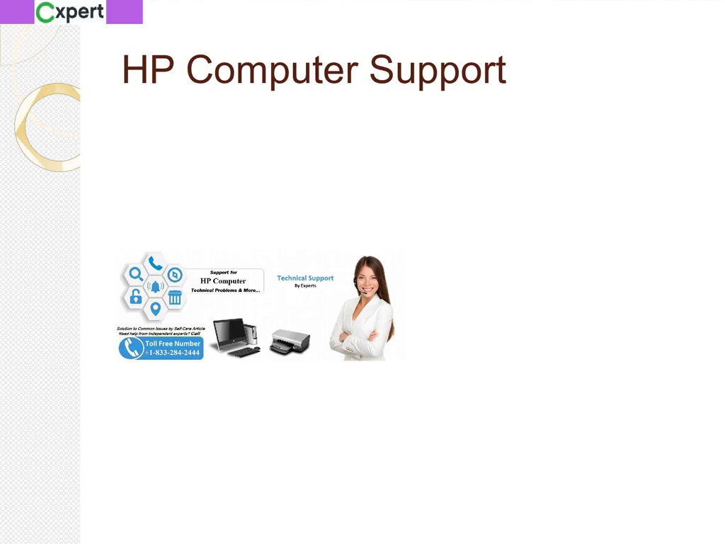 Get Complete Solution From HP Computer 1-833-284-2444 Support Number USA