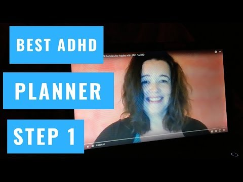 How to find the Best ADHD Planner Step 1