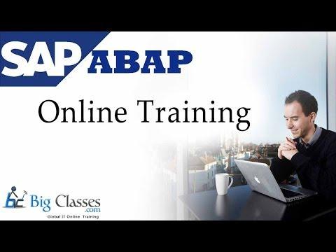 SAP ABAP Online Training | FREE Video Tutorial