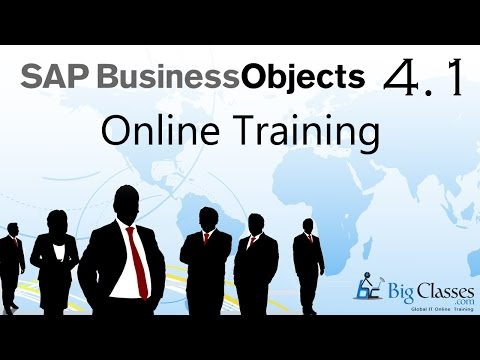 SAP BO 4.1 Video Tutorials - Part 1