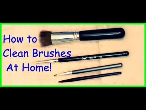How I Clean and Dry Makeup Brushes (Inexpensive and Easy)