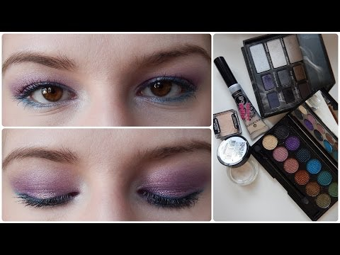 Spring Makeup Tutorial: Easy and Colorful Eyes