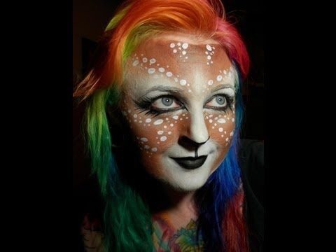 Fawn Face Painting Tutorial