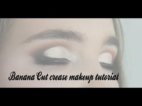 Banana Cut crease makeup tutorial