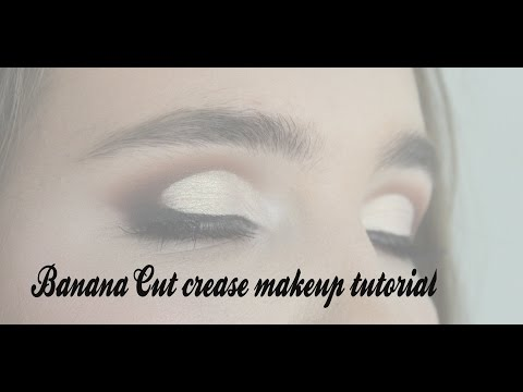 Banana Cut crease makeup tutorial