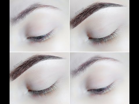 2 Minutes Makeup Tutorial : Natural Looking Instagram Eyebrows