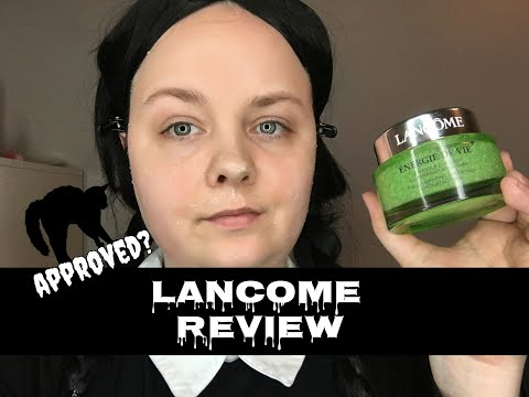 Wednesday Reviews | Lancome | Energie De Vie Mask
