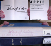 Found these books at the library at work...