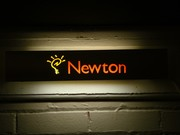 Apple Newton electric Display Sign