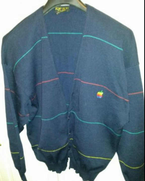 Apple wool jacket