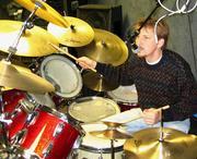 Steve Nelson in studio session