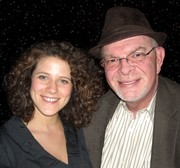 Cyrille Aimee with Mike Stokes